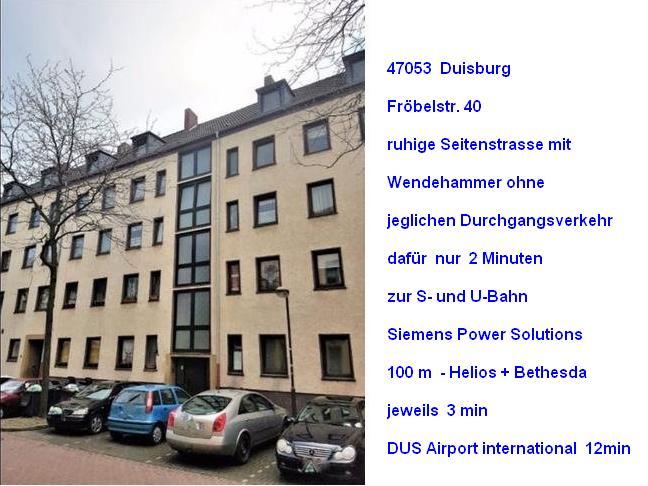 ruhige Kleinst Wohnung Duisburg Immobilien 3