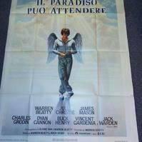 1978 Plakat Kunst Schweiz Il Paradiso Warren Beatty