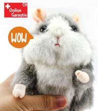 Sprechender Hamster Plüsch Spielzeug Kind Kinder Süss Geschenk Herzig Talking Herzig Süss