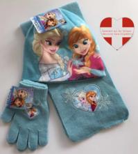 Disney Die Eiskönigin Frozen II Mädchen Winter Set Kleidung Mütze Schal Handschuh Accessoire