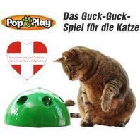 Pop Play Interaktives Katzenspielzeug Katzen Spielzeug Zuhause Unterhaltung Deheimu bekannt TV Werbung