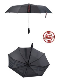 Porsche Auto Regenschirm Taschenschirm Automatik Fan Geschenk Accessoire