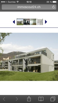 Moderne 4.5 Zimmer Wohnung 103 m2 in Mühlefeld Oensingen. 4702 Oensingen Kanton:so