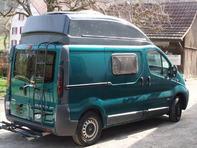 Camper Bus, ausgebaut für 2 Personen