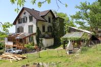 Rösselerparadies im thurgau: 3Z (140m2).+Offenstall,Reitplatz,Koiteich, Wellnessoase, Wintergarten kradolf Kanton:tg