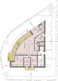 Moderno attico 5.5 in Residenza di pregio a Paradiso. Lugano 6900 Kanton:ti