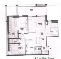 4,5 Zimmer Wohnung Bellinzona Kanton:ti