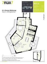 """""""4.5 Zimmer-Attikawohnung """"""""Urbanes und zeitgemässes Wohnen"""""""""""" 8048 Zürich Kanton:zh"""