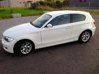BMW 118i, weiss, 8fach bereift, viele Extras, 86'000km
