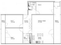 4.5 Zimmer Wohnung  101 m 5004 Aarau Kanton:ag