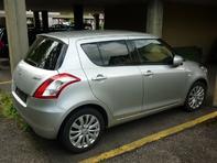 Suzuki Swift Benzin+Gas