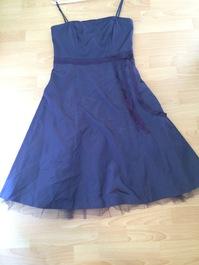 Elegantes Cocktailkleid / Partykleid in violette