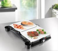 Gourmet Maxx Keramik Turbo Grill 2 in 1
