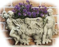 """Bepflanzbare Classico-Figur """"Cestino di uva"""" 40 x 25 cm"""