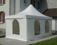 PVC Zelt, Pavillon, Carport, Rauchrezelt, Weidezelt, Smokerzelt, Unterstand