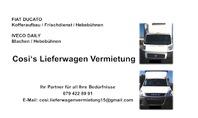 Cosi's Lieferwagen Vermietung