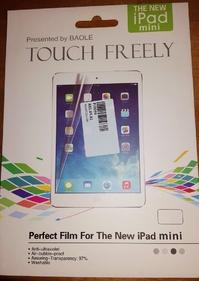 Schutzfolie iPad Mini 1-4 + Mikrofasertuch