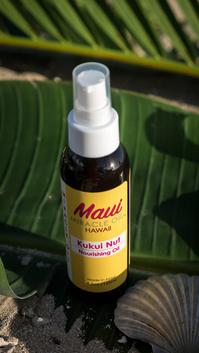 Biologisches Pflegeöl mit Kukuinussöl direkt aus Hawaii