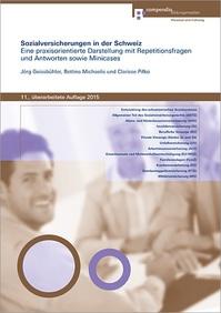 Buch: Sozialversicherungen der Schweiz 2015 - Compendio