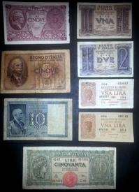 banconote Italia lotto 4