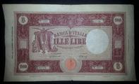 banconota 1000 lire 1946