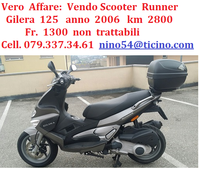 Vendo  Scooter  125  runner