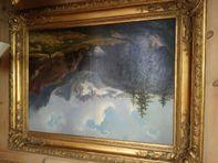 Coppia di quadri olio su tela
