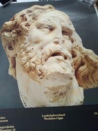 1979 Plakat Barock Skulptur Westfalen Ausstellung