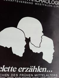 1983 Orginal Plakat  A1  Anthropolpogie Münster
