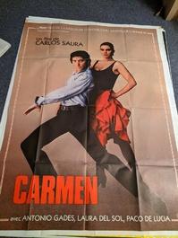 1983 Orginalplakat Carmen Saura aus Locarno