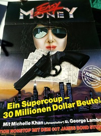 1987 Orginalplakat Tong tian da dao easy money extrem seltene Mediathek Ausgabe