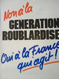 1988 Wahl Plakat La France
