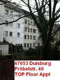 2 Zi Wohnung 47053 Duisburg am Rheinpark