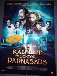 2009 A1 Plakat das Kabinett des Doktor Parnassus