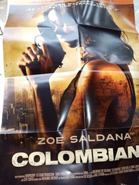 2010 Orginal  Film Plakat  A1  Columbiana
