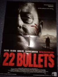 22 Bullets Film Plakat A1 aus 2010