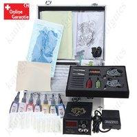2x Profi Tattoomaschine Tattoo Maschine Komplett Set Tätowierung Tätowierung Maschine mit Koffer Schweiz