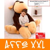 Affe Plüsch Monkey Plüschtier 1.5m XXL Geschenk Kind Kinder Frau Freundin XXXL Kuscheltier / Neu