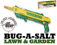 BUG-A-SALT 2.0 Rasen Garten Fliegengewehr Salz Gewehr Pistole Salzgewehr Flinte Insekten Schädlinge