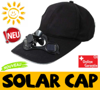 Biete: Solar Cap Mütze Kappe Ventilator Sonne Solarcap Kappe / Neu