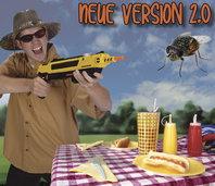 Bug-A-Salt Bug a Salt Version 2.0 Flinte Fliegen Jagd Fliegenkiller Salz Gewehr Schrotflinte Salzgewehr Luftdruckgewehr gegen Insekten Fliegenklatsche