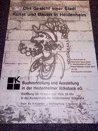 Bund Deutscher Architektinnen und Architekten Plakat  1989