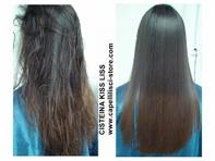 Die Cisteína  KISS LISS ist ein ausgezeichnetes Produkt um die Haare zu glätten.