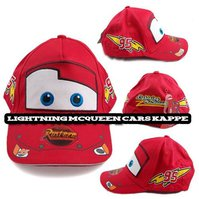 Disney Cars Lightning Mc Queen Kinder Kappe Mütze