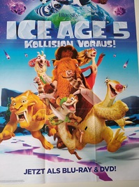 Disney Kunst Plakat 2016 Ice Age 5
