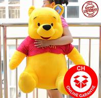 Disney Winnie Puuh Pu der Bär Plüsch Winnie Pooh Plüschbär Teddy XXL 110cm Geschenk Kind Kinder / Neu