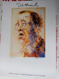 Dittrich Ausstellungsplakat 1988 Neresheim H Böll