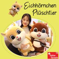 Eichhörnchen Plüsch Plüschtier Geschenk Kind Frau 3 Farben 60cm Geschenk Hit