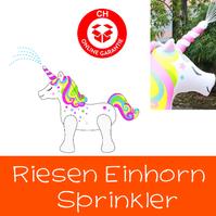 Einhorn Sprinkler Wasser Spielzeug Sommer Wasserspielzeug Unicorn Garten Badi Zuhause Gartenschlauch Sprinkleranlage Neu