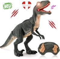 Ferngesteuerter Dinosaurier Velociraptor Spielzeug RC Dino Raptor Dinospielzeug Geschenk Kind Kinder Schweiz